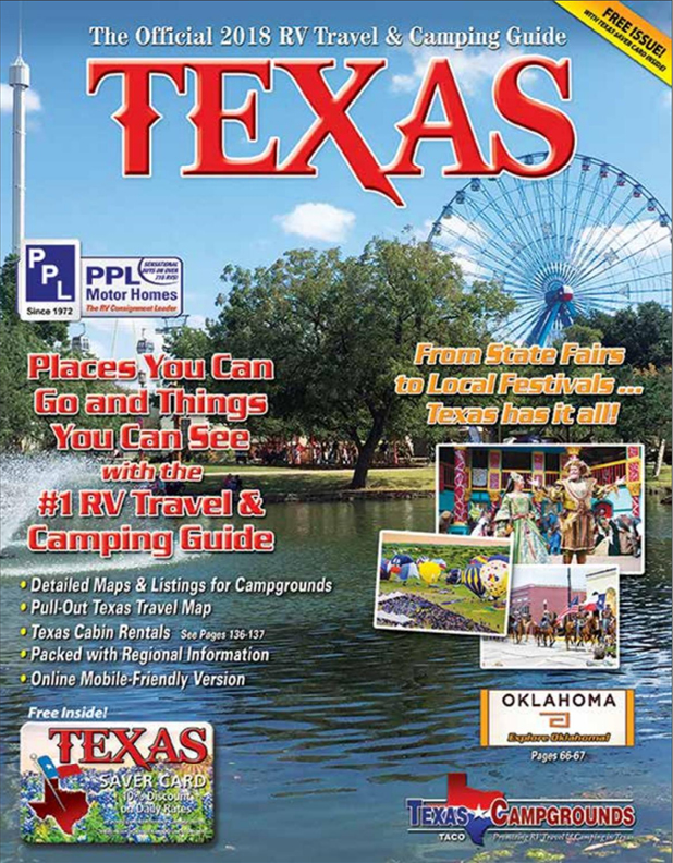 Texas RV Travel & Camping Guide